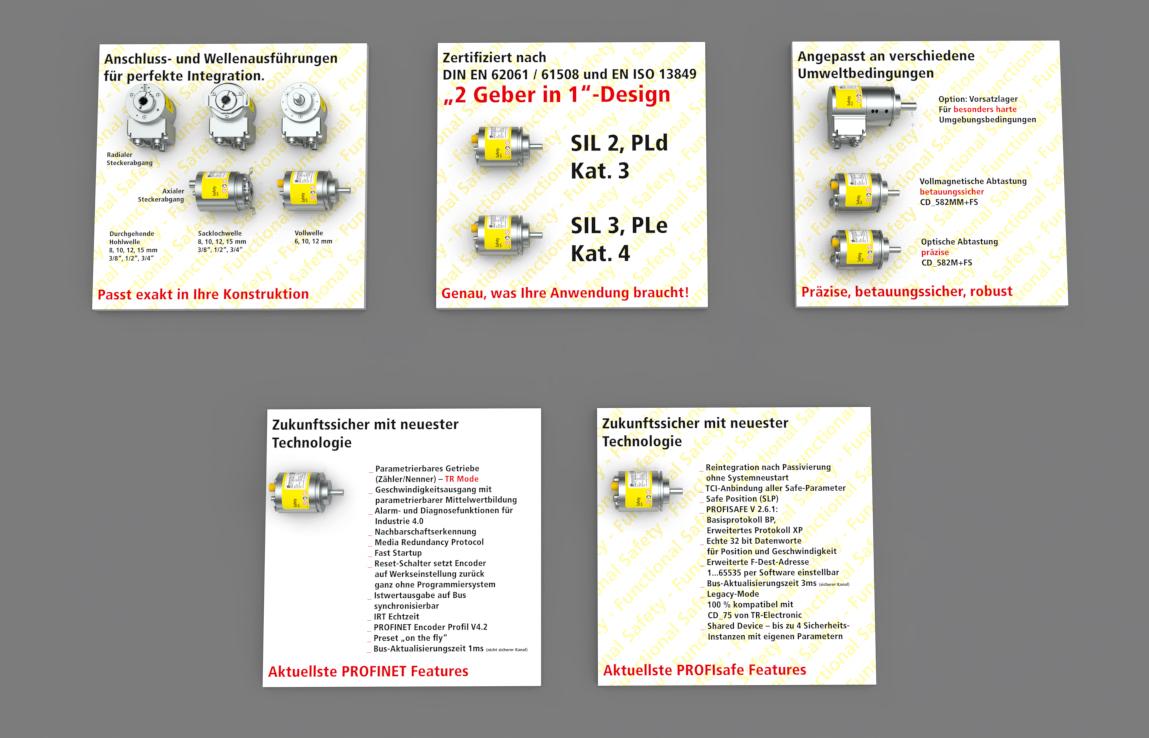 Der derzeit kleinste Absolutdrehgeber für Anwendungen nach Sicherheitsstandard SIL3!